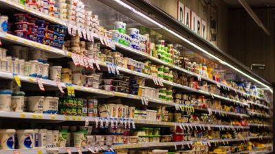 Dairy shelf