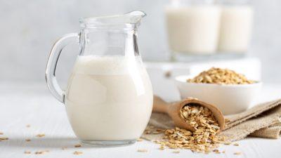 jug of oat milk