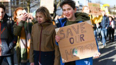 Children Strike Across the Globe to Address Global Warming