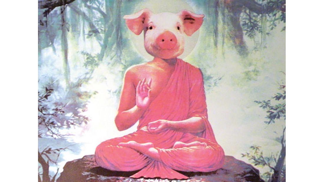 Fioirot Buddha Pig