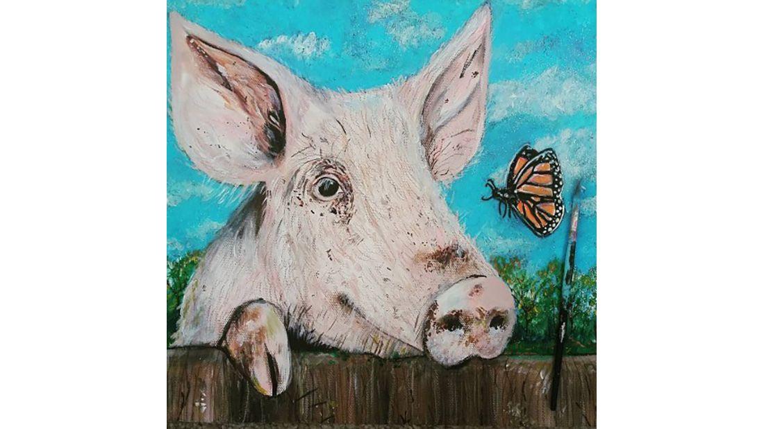 Holly Bushnell piggy