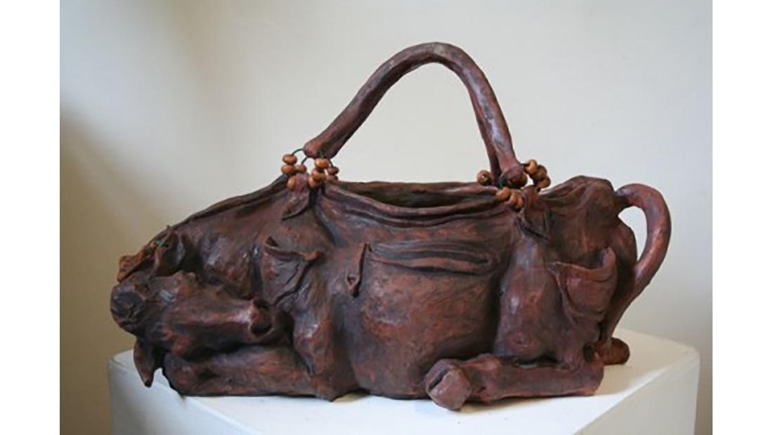 Lisa Delarny Cow Couture Handbag