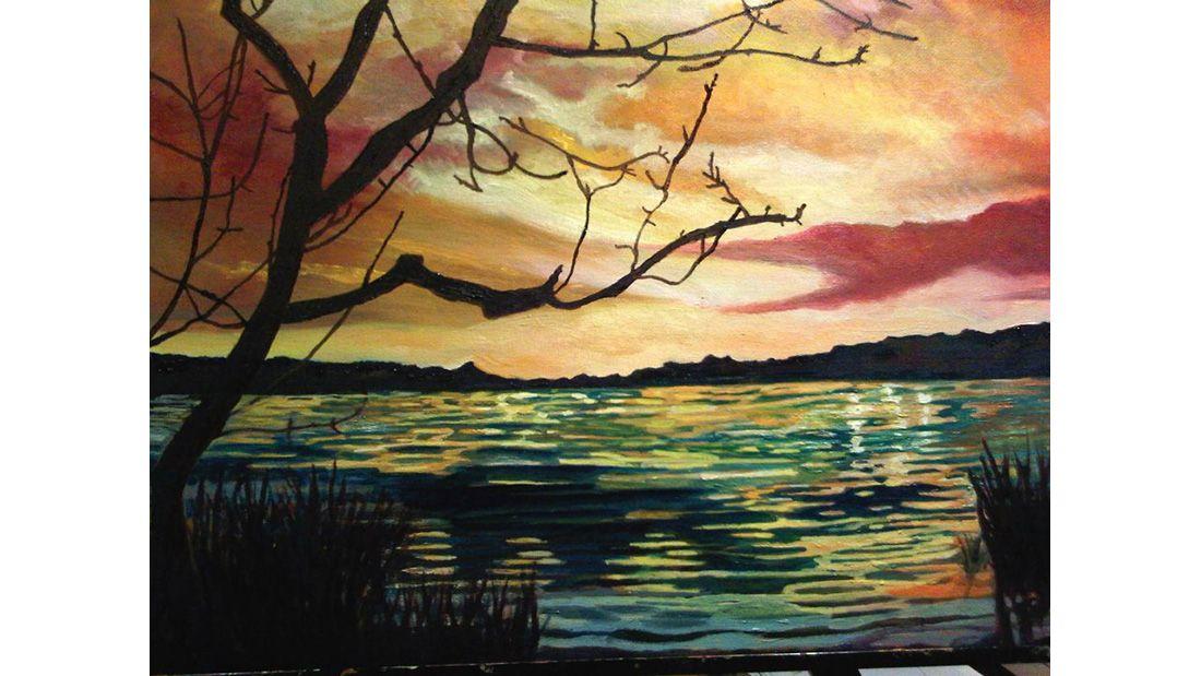 Loretta Reid Quarrell sunset