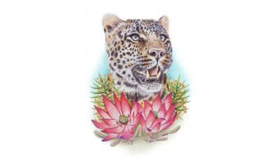 Rose Skelton leopard smol