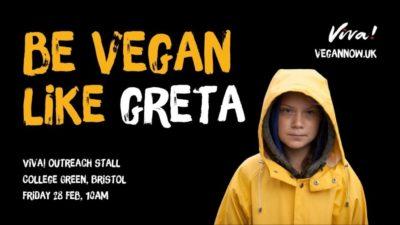 be vegan like greta