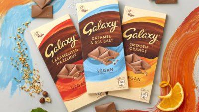 Mars to Launch Three Vegan Galaxy Bars