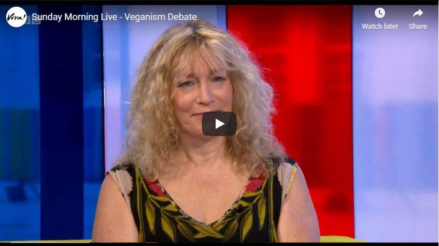 Juliet Debates Veganism on BBC Sunday Morning Live!