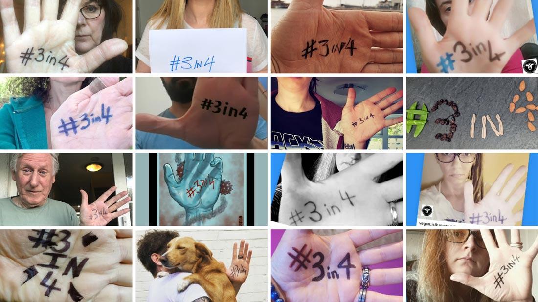 #3in4 campaign