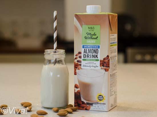 M&S almond milk