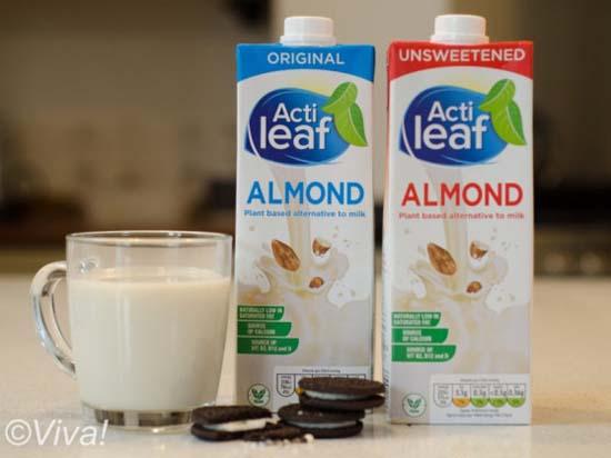 Aldi — Actileaf almond milk