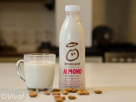 Innocent almond milk