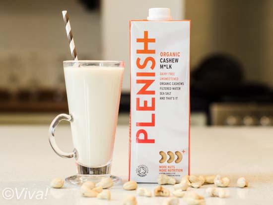 Plenish cashew milk