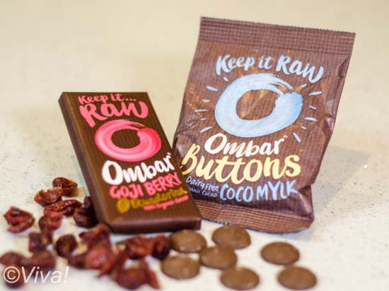 Ombar Raw and made with the finest cacao