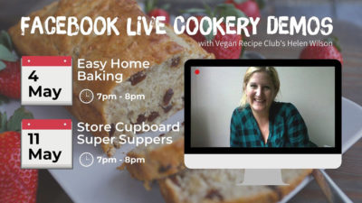 Cookery demo Facebook live