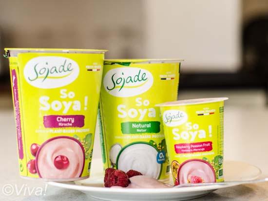 Sojade yogurts