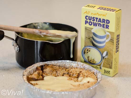 All Natural custard