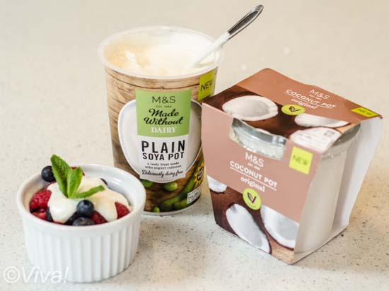 M&S yogurts