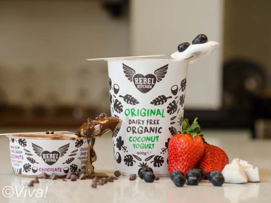 Rebel Kitchen yogurts
