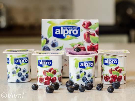 Alpro yogurts mini