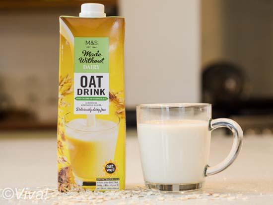 M&S oat milk