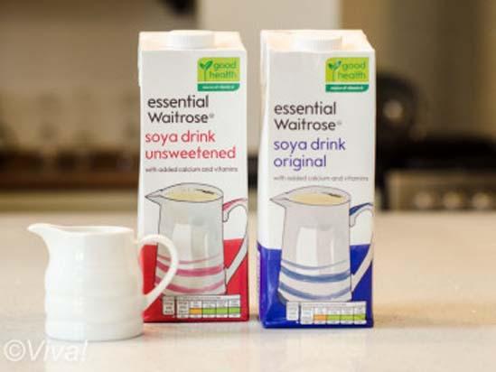 Waitrose soya milk