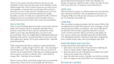 Fishing for Facts Fact Sheet