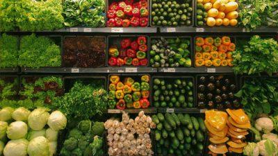 Vegetables supermarket