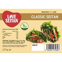Love Seitan Classic Seitan Log