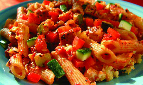 Pasta with Home-Made Tomato