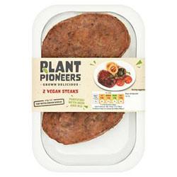Plant pioneers vegan steaks