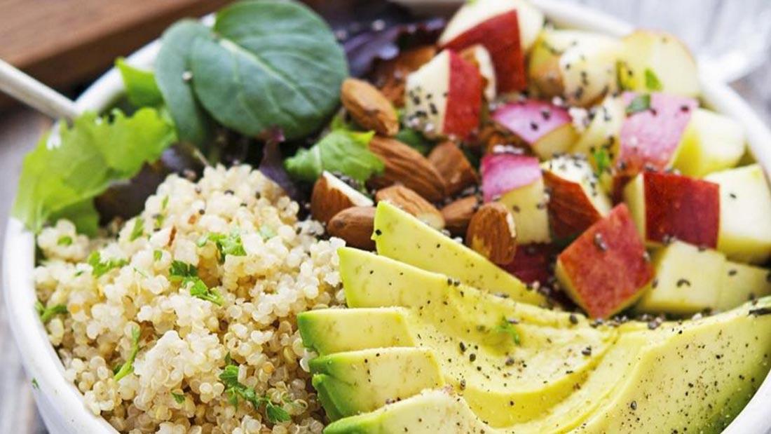 Quinoa salad strip
