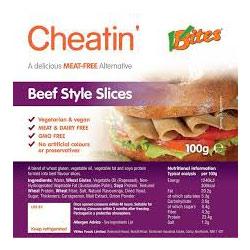 Vbites Cheatin Roast Beef slices
