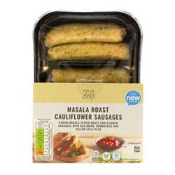 Aldi deli vegan sausages