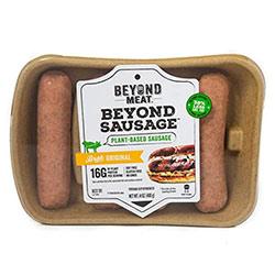 Beyond meat vegan sausages