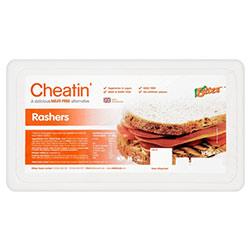 cheatin vegan bacon rashers