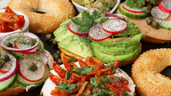 Deli style ham bagels vegan recipe club