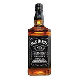 jack daniels whiskey bottle