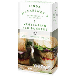 linda mccartney's quarter pounder burgers