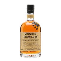 monkey shoulder whiskey bottle