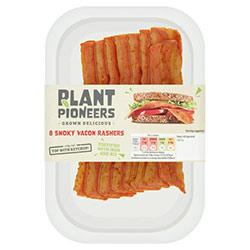 plant pioneers vegan bacon rashers