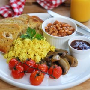 tofu scramble breakfast