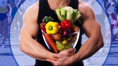 Vegan strong man