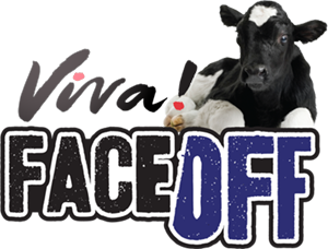 Face off dairy logo