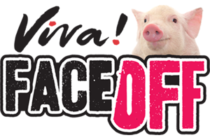 Face off pigs logo