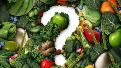food question mark