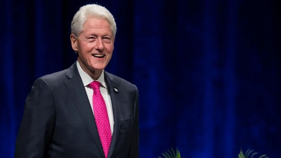 bill clinton vegan politician