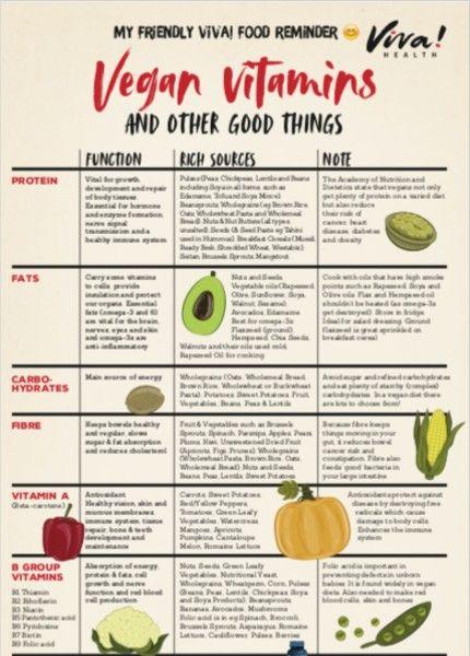 cover of vegan vitamins guide