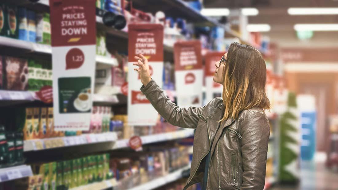 ASDA vegan aisle
