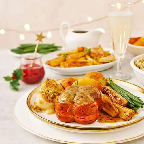 sainsburys plant pioneers no turkey parcels vegan main