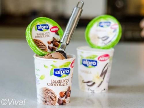 alpro ice cream